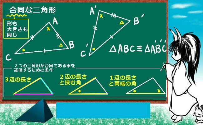 三角形の合同条件