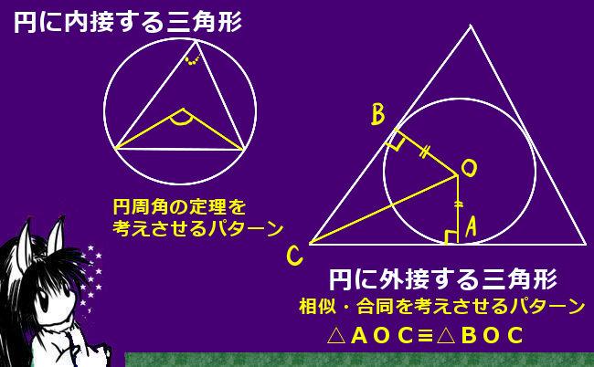 合同な三角形の例②